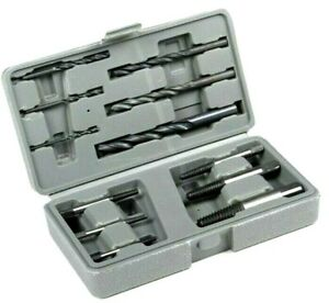 12pc Hss Easy Out Rigid Screw Extractor Set Broken Bolt Stud Fastener W Case