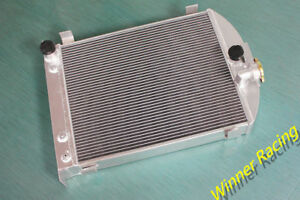 70mm Up To 1000hp Aluminum Radiator For Ford Truck Hot Rod W 305 V8 Engine 1932