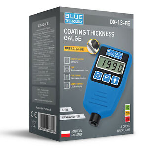 Paint Coating Thickness Gauge For Cars Dx 13 Fe From Produzent Made In Eu