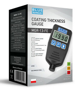 Paint Coating Thickness Gauge For Cars Mgr 13 Fe From Produzent Made In Eu