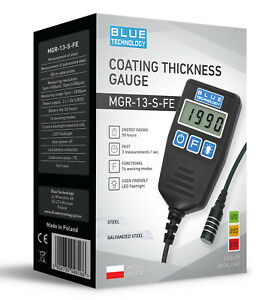 Paint Coating Thickness Gauge For Cars Mgr 13 S Fe From Produzent Made In Eu