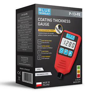 Digital Paint Coating Thickness Gauge For Cars P 13 Fe Professional Made In Eu