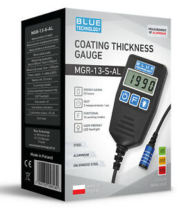 Paint Coating Thickness Gauge For Cars Mgr 13 S Al From Produzent Made In Eu