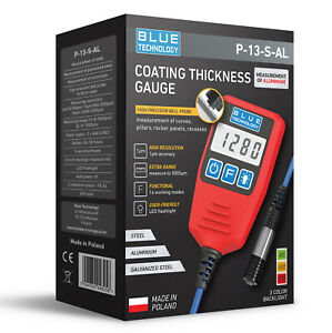 Digital Paint Coating Thickness Gauge For Cars P 13 S Al Professional Made In Eu