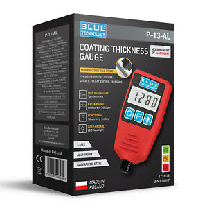 Paint Coating Thickness Gauge For Cars P 13 Al Fe Al Professional Made In Eu