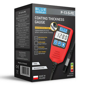 Digital Paint Coating Thickness Gauge For Cars P 13 S Fe Professional Made In Eu