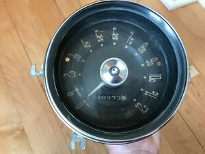 Vintage 1955 Dodge Plymouth Mopar Speedometer Used Custom Rat Rod is 997
