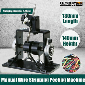 Manual Wire Stripping Peeling Machine Cable Stripper Scrap Metal Recycle Tool Us
