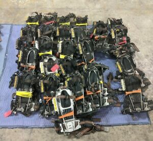 lot Of 28 Scott 2 2 Back Pack Fireman Fresh Air Rescue Harness