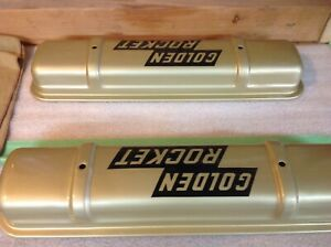 Rocket Oldsmobile Valve Covers 57 58 371