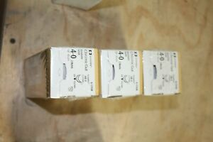 Covidien G 1793k Chromic Gut Absorbable Suture 4 0 18 New Lot Of 3 Boxes