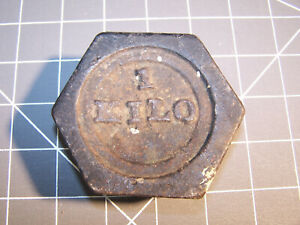 Vintage 1 Kilo Scale Weight
