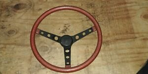 Grant Cal Custom Superior 500 Red Metal Flake Steering Wheel Hot Rod Rat Rod