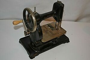 Very Rare Collectable Antique Baby Sheridan Sewing Machine Hand Crank