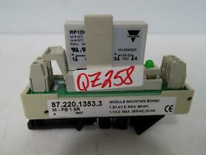 Weiland 87 220 1353 3 Module Mounting Board With Relay