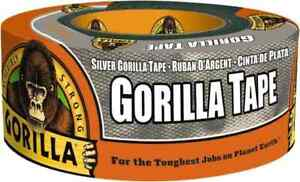 Gorilla Silver Duct Tape 12 Yard 1 88 Wide Extra Thick Extra Stick
