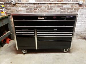 Black Snap On Tool Box Krl 722 With Stainless Top