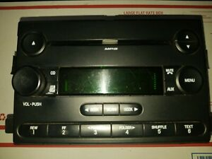 05 06 07 Ford Focus Oem Radio Stereo Mp3 Cd Player 6s4t 18c69 bd