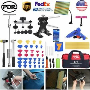 70 Car Body Paintless Dent Repair Hail Removal Dent Puller Lifter Pdr Tools Kit