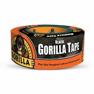 Black Gorilla Duct Tape Heavy Duty Double Thick 1 88 Inches X 12 Yard 1 Roll