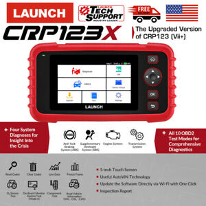 Launch X431 Crp123x Car Scanner Obd2 Auto Scan Tools Engine Abs Srs At Pk Vii