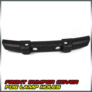 Textured Front Bumper Cover W Fog Lamp Holes For 2007 2016 Jeep Wrangler Jk