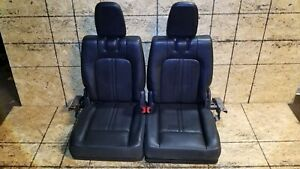 10 11 12 Lincoln Mkt Third Row Seat Leather Pair Oem