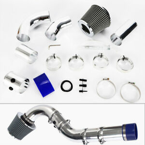 Universal 3 Cold Air Intake System Multiple Combined Pipe Kit W Filter Kits