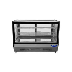 Atosa Usa Crds 56 35 Full Service Countertop Refrigerated Display Case 2 Sh
