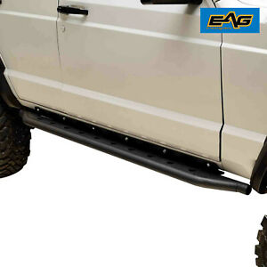 Eag Jeep Rock Slider Side Step Fit 1984 2001 Jeep Cherokee Xj