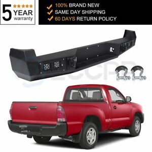 New Rear Steel Black Bumper Assembly For Toyota Tacoma 2005 2006 2015us Fast