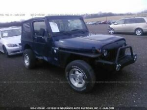 Transfer Case Model 231 4 0l Manual Transmission Fits 00 02 Wrangler 1084882