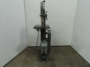 Rockwell 28 200 14 1hp 115 208 230v 1ph Vertical Wood Band Saw With Tilt Table