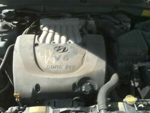 Engine 2 7l Vin F 8th Digit 6 Cylinder Fits 03 08 Tiburon 347077