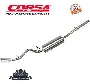 Corsa Performance 24874 Sport Cat back Exhaust System