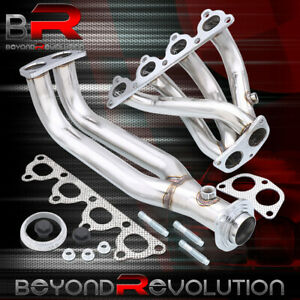 For 96 00 Honda Civic Ek Jdm High Flow 4 2 1 Exhaust Header Manifold Gasket Bolt