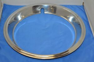 1973 Oem Dodge Charger Rally Wheel Rim Cover Chrome Hubcap For 15 Rally Rims