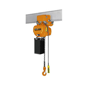 Prowinch 1 2 Ton Electric Chain Hoist With Electric Trolley 20ft Lifting Height