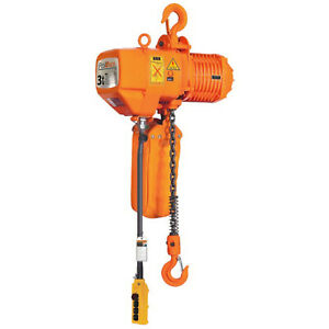 Prowinch 2 Speed 3 Ton Electric Chain Hoist 30 Ft G100 Chain M4 h3 230 380 460v