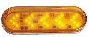 Amber Led Turn Signal Light Sequential Arrow 35 Diode
