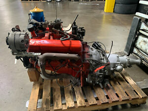 1955 Chevrolet 265 Small Block V8 With The Original Power Glide Transmission
