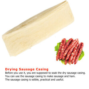 Dry Casing Natural Sheep Sausage Cover Sausage Skin For Smoked Hot Dog Sausage