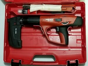 Hilti Dx 460 mx 72 Powder Actuated Tool Kit Pre Owned In Plastic Case