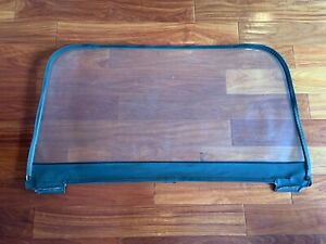 1997 2006 Jeep Wrangler Soft Top Rear Clear Window Replacement Black Used