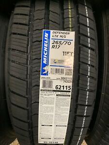 265 70 17 Michelin Defender Fits 26570r17