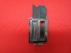 1970 Challenger Cuda Barracuda Automatic Shifter Indicator Plate