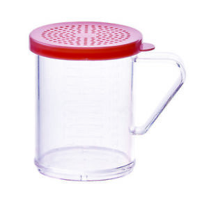 Winco Pdg 10r 10 Oz Shaker Dredge With Handle