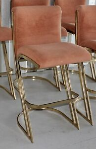 3 Midcentury Modern 80 S Cantilevered Bar Stools Designed By Pierre Cardin