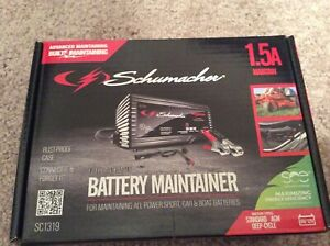 Schumacher Sc1319 1 5a 6 12v Fully Automatic Battery Maintainer