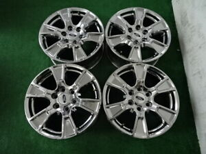 2015 To 2018 Ford F 150 Oem Factory Pvd Chrome 18 Wheels Rims Fl34 1007 Ba